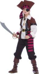 FIESTAS GUIRCA, S.L. - Zeerover piraten kostuum voor jongens - 110/116 (5-6 jaar) - Kinderkostuums