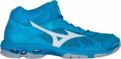 Mizuno Wave Bolt 7 Sportschoenen - Maat 50 - Mannen - blauw/ wit