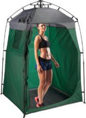 Groene Relaxdays omkleedtent XXL - opslagtent - kleedkamer - stahoogte - 275 x 156.5 x 154 cm