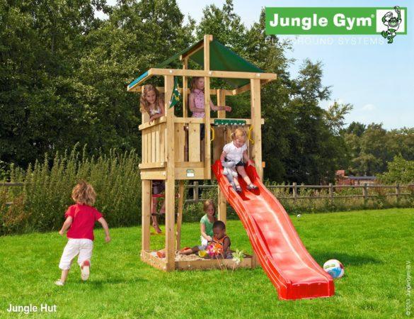 Afbeelding van Jungle Gym | Hut | DeLuxe | Paars