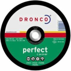 Dronco Doorslijpschijf - 180 mm St.Primaflex
