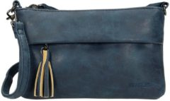 Beagles Clutch / Schoudertasje Navy Blauw