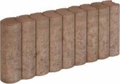 5 stuks! Rondo palissadeb bruin 8x25x50 cm Gardenlux