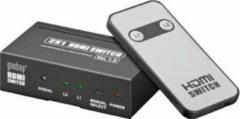 Zwarte Goobay 60811 video splitter HDMI
