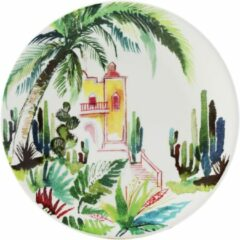 GIEN FRANCE - Jardin Extraordinaires - Gebakbordje 17cm Mexico
