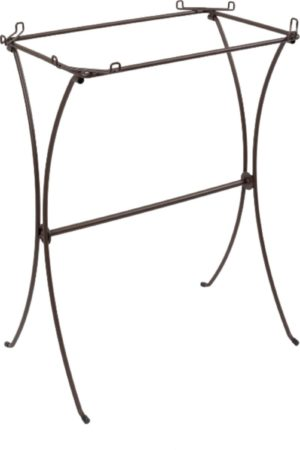Afbeelding van Zolux Retro Standaard Vogelkooi Madeleine - Vogelverblijven - 58.5x38.5x73 cm Bruin