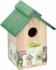 Lifetime Garden - Vogelhuisje - Hangend of staand - 20 x 18 x 14 cm - Groen