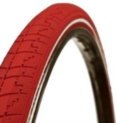 Dutch Perfect No Puncture - Buitenband Fiets - 40-635 / 28 x 1 1/2 inch - Roze