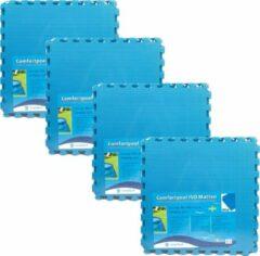 Comfortpool - zwembad tegels - blauw - 20 tegels - 60 x 60 cm - 7,2 m2 - zwembad ondertegels