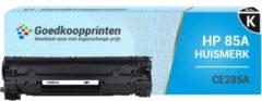 Goedkoopprinten Huismerk voor HP 85A toner / HP CE285A toner Zwart - 2.000 afdrukken