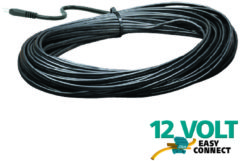 Zwarte Luxform Padverlichting Packed 15 mtr SPT-1 Cable + plug
