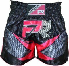 Punch Round™ Punch Round Evoke Dames Kickboks Broek Zwart Roze XS = Jeans Maat 28 | 8 t/m 10 Jaar