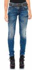 Blauwe Cipo & Baxx Skinny fit Broek Maat W25