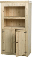Woodvision - Tuinkast Hyacint - Vuren - 100x190x58 cm