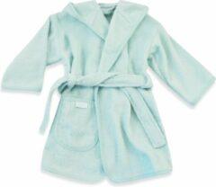 Gepersonaliseerde badjas mint | funnies badjas | badjas met naam | 1-2 jaar | 100% zuivere katoen, badstof | baby | na het zwemmen | na het douchen