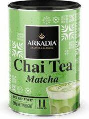 Arkadia Chai Latte Tea Matcha 220gr. Powder Cafe Beverage