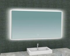 Ced'or spiegel + Led rechthoek 1400x800