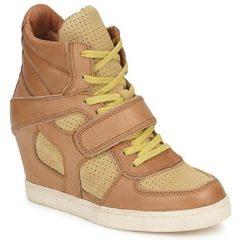Bruine Hoge Sneakers Ash COCA