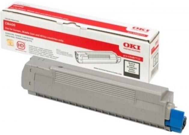 Afbeelding van OKI C8600, C8800 tonercartridge zwart standard capacity 6.000 pagina s 1-pack