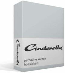 Licht-grijze Cinderella - Hoeslaken hoge hoek (tot 35 cm) - 90x210 cm - Light Grey