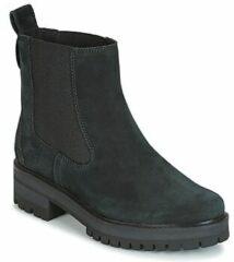 Zwarte Boots en enkellaarsjes Courmayeur Valley Chelsea by Timberland