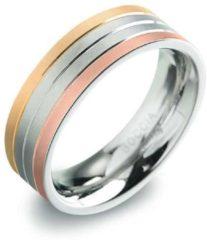 Zilveren Boccia Titanium 0135-03 Ring - Titanium - Bicolor