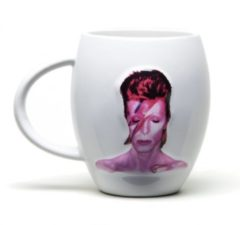 GB Eye ovale mok David Bowie Aladdin Sane wit 440 ml