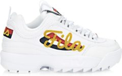Fila - Dames Sneakers Disruptor II Signature - Wit - Maat 36 1/2