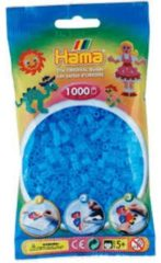 Hama Strijkkralen 1000 stuks blauw transparant (73)