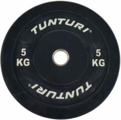 Zwarte Tunturi Halterschijf 5kg Black