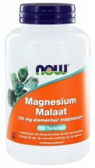 Now Foods Magnesium Malaat 150 mg van NOW : 180 tabletten