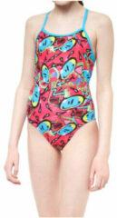 Roze Maru Bounce Pacer Flyback zwempak voor meisjes - Badpakken