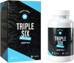 Morning Star Devils Candy Triple Six Horny Beast Libido Pillen - Lustopwekker voor mannen en vrouwen - 60 Pillen