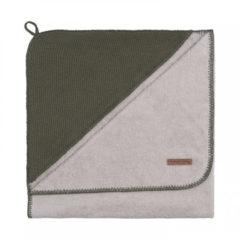 Groene Baby's Only Classic badcape 85x75 cm khaki