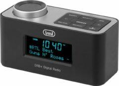 Digitale klokradio, DAB / DAB + - Trevi RC 80D6, zwart