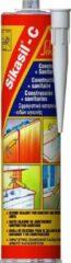 Sikasil-C - Neutrale siliconen fungicide kit - Sika - 300 ml koker Lichtgrijs