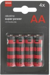 HEMA 4-pak AA Batterijen