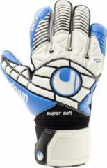 Witte Uhlsport Sporthandschoenen - Weiß/Schwarz/Energy Blau - 7