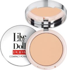 Beige Pupa milano Pupa - Like A Doll Nude Skin Compact Powder SPF15 puder matujący 003 10g