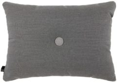 Grijze Hay Dot Cushion kussen steelcut trio Dark grey 60x45