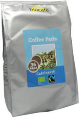 BioCafé Biocafe Coffee Pads Caffeinevrij (36st)