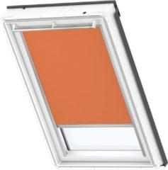 VELUX verduisterend rolgordijn DKL M04 4564S orange / wit