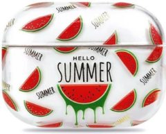 Rode Coverz AirPods pro hoesje Watermeloen - AirPods pro hard case Watermelon
