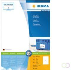 HERMA 12896 printeretiket Wit Zelfklevend printerlabel