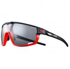 Julbo - Rush Reactiv Performance S0-3 (VLT 12 / 87%) - Fietsbril grijs/zwart/rood