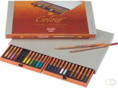 Bruna Kleurpotloden Bruynzeel Colour box 24stuks assort