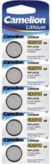 CR2016 Knoopcel Lithium 3 V 75 mAh Camelion CR2016 5 stuks