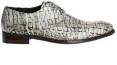Floris Van Bommel Heren Nette schoenen 18089 - Wit - Maat 42