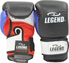 Legend Sports Bokshandschoenen Power Zwart/blauw/rood Mt 14oz