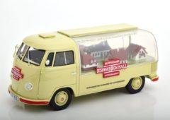 """Schuco Pro R Volkswagen T1 Bus """"Schwäbisch Hall""""Beige / Rood 1-18 Schuco ProR Limited 500 Pieces"""